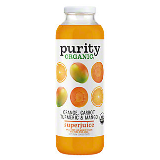 Purity Organic Orange Carrot Turmeric & Mango SuperJuice, 16 oz