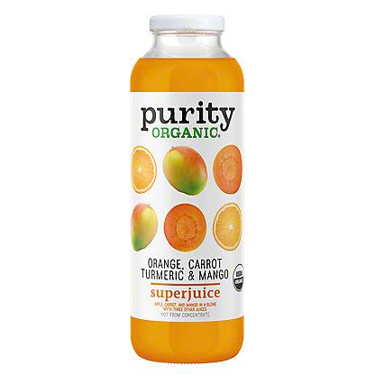Purity Organic Orange Carrot Turmeric & Mango SuperJuice, 16 oz