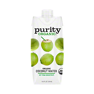 Purity Organic 100% Coconut Water, 16.9 oz