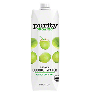 Purity Organic 100% Coconut Water, 33.8 oz