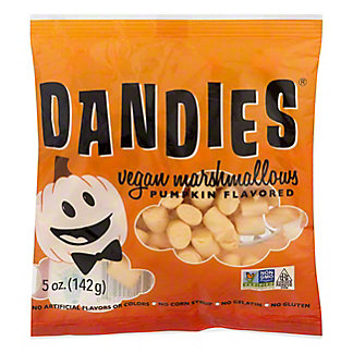 Dandies  Pumpkin Flavored Vegan Marshmallows, 5 oz