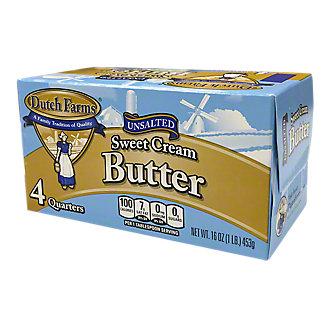 Dutch Farms Unsalted Sweet Cream Butter, 16 oz