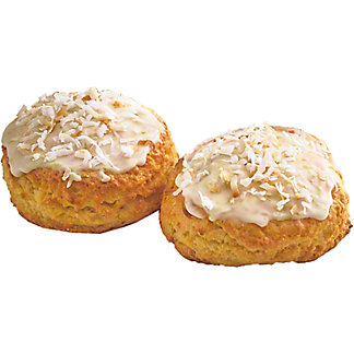 Central Market Lime And Coconut Scones, 2 ct