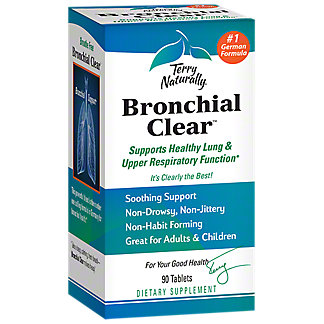 Terry Naturally Bronchial Clear, 90 ct