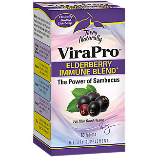 Terry Naturally ViraPro Elderberry Immune Blend, 60 ct