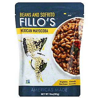 Fillo's Mexican Mayocoba Beans, 10 oz