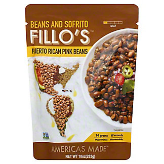 Fillo's Puerto Rican Pink Beans, 10 oz