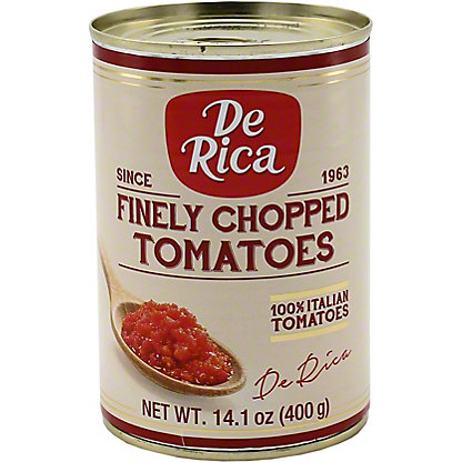 De Rica Finely Chopped Tomatoes, 14.1 oz