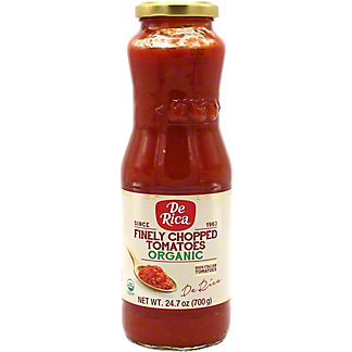 De Rica Organic Finely Chopped Tomatoes, 24.7 oz