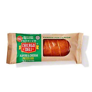 Chicago Deli Jalapeno Cheddar Pretzel Dog, 4.7 oz