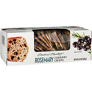 Central Market Rosemary Currant Crisps, 5.3 oz