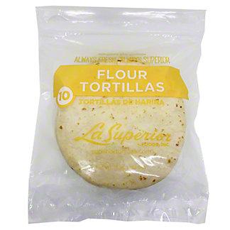La Superior 6 in White Flour Tortillas, 10 ct