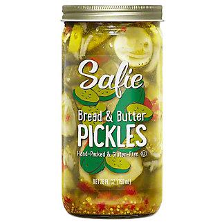 Safie Bread & Butter Pickles, 26 oz