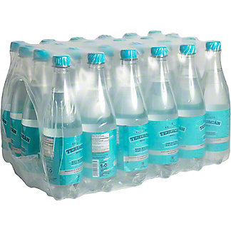 Tehaucan Still Mineral Water, Plastic Bottles, 24 pk, 20.3 fl oz ea