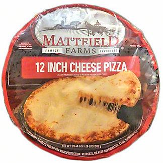 Mattfield Farms 12 Inch Cheese Pizza, 20.4 oz
