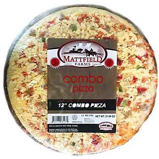 Mattfield Farms 12 Inch Combo Pizza, 21.8 oz