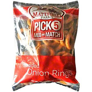 Mattfield Farms Breaded Onion Rings, 28 oz