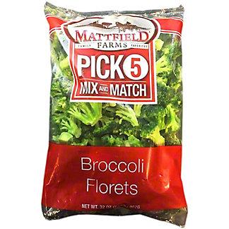 Mattfield Farms Broccoli Florets, 32 oz