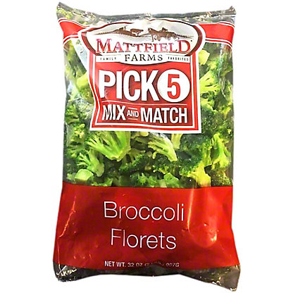 Mattfield Farms Broccoli Florets, 32 oz
