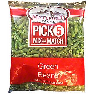 Mattfield Farms Green Beans, 32 oz