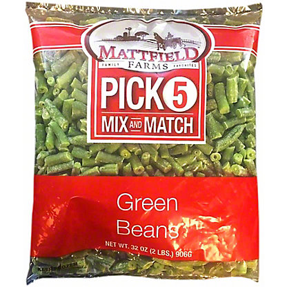 Mattfield Farms Green Beans, 32 oz