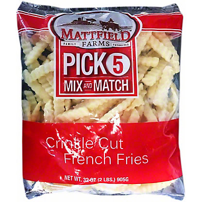 Mattfield Farms Crinkle Cut French Fries, 32 oz