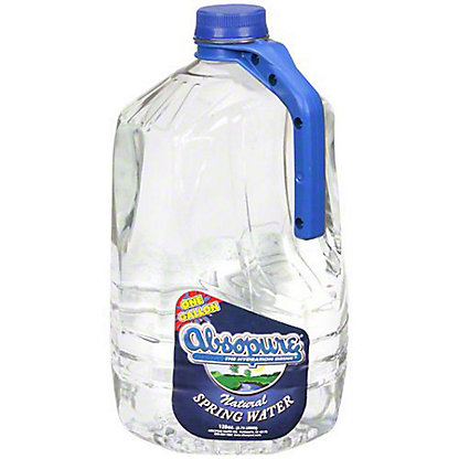 Abospure Purified Drinking Water, 1 gal
