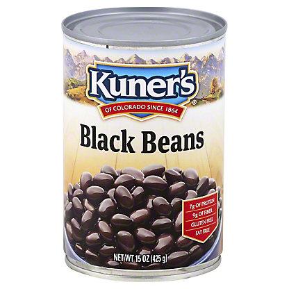 Kuner's Black Beans, 15 oz