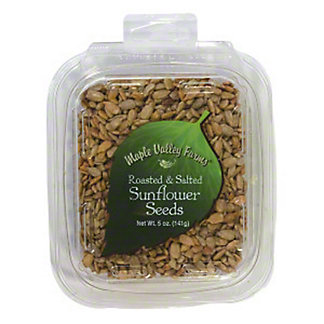 Maple Valley Farms Roasted & Salted Sunflower Seeds, 5 oz
