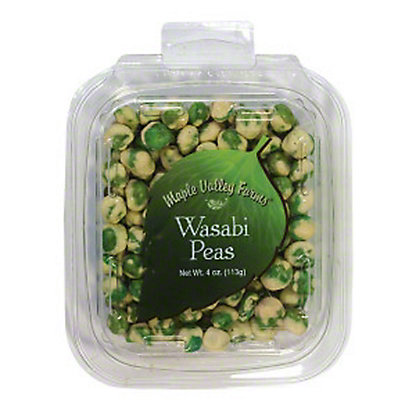 Maple Valley Farms Wasabi Peas, 4 oz