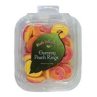 Maple Valley Farms Gummy Peach Rings, 6.5 oz