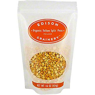 Edison Grainery Organic Yellow Split Peas Gluten Free, 16 oz
