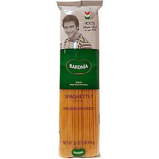 Baronia Spaghetti 7, 16 oz