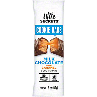 Little Secrets Milk Chocolate Caramel Cookie Bars, 1.8 oz