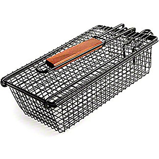 Charcoal Companion Nonstick Shaker Basket Folding Handle, ea