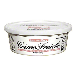 Kendall Farms Creme Fraiche Cultured Cream, 7.5 oz