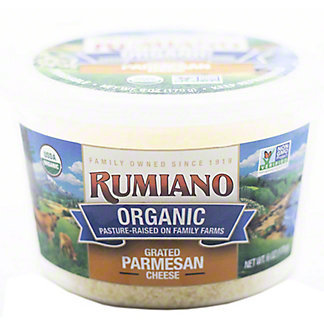 Rumiano Family Cheese Cup Graged Parmesan, 6 oz