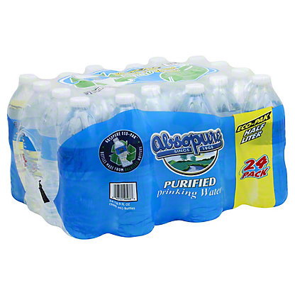 Absopure Spring Water, 24 pk, 16.9 fl oz ea