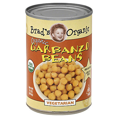 Brad's Organic Garbanzo Beans, 15 oz