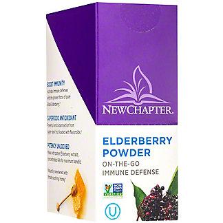New Chapter Elderberry Powder Sticks, 15 ct