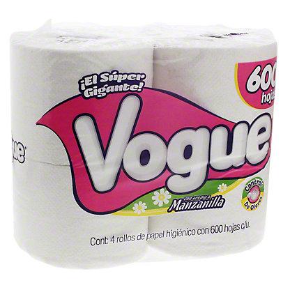 Vogue Bath Tissue, 4 ct