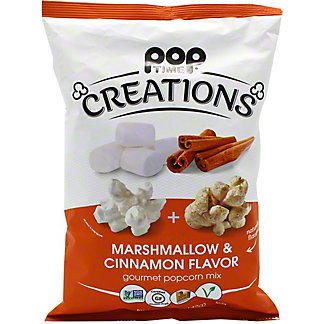 Poptime Creations Marshmallow And Cinnamon Popcorn, 5 oz