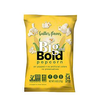 Big & Bold Butter Popcorn, 6 oz