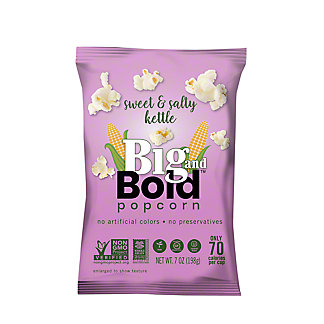 Big & Bold Sweet And Salty Popcorn, 7 oz