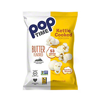 Poptime Butter Kettle Popcorn, 4.75 oz