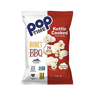 Poptime Honey BBQ Kettle Popcorn, 7 oz