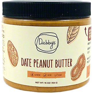 Debby's Peanut Butter Date, 16 oz