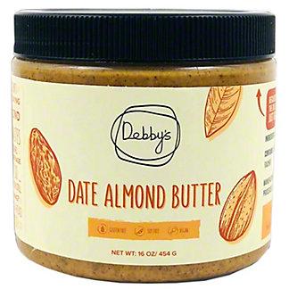 Debby's Date Almond Butter, 16 oz