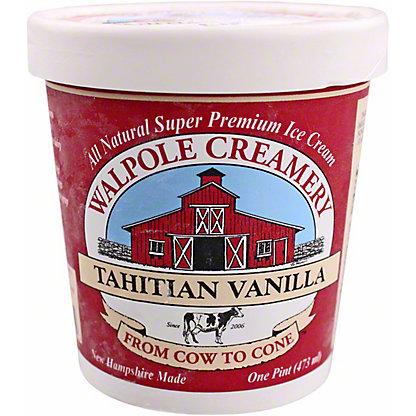 Walpole Creamery Tahitian Vanilla Ice Cream, 1 pt