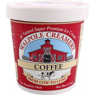 Walpole Creamery Coffee Ice Cream, 1 pt